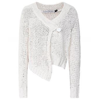 Lurdes Bergada Rustic Cotton Knit Cardigan