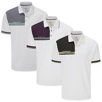 Stuburt Golf Mens 2021 Gilford Breathable Moisture Wicking Summer Golf Polo Shirt