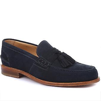 Jones Bootmaker Mens Capetown Blake Stitched Tassel Loafers