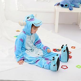 Flannel Dinosaur Animal Play Suit