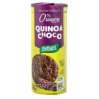 Santiveri البسكويت Digestifs الكينوا شوكو 175 gr