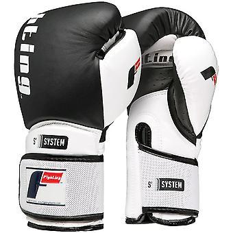 Fighting Sports S2 Gel Boxing Power Bag Gloves - Black/White