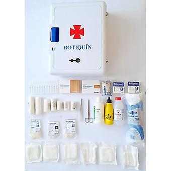 Erste-Hilfe-Schrank mit Schlssel. Gre: 40 cm x 30 cm x 16 cm. Mit mehreren unersen Artikel
