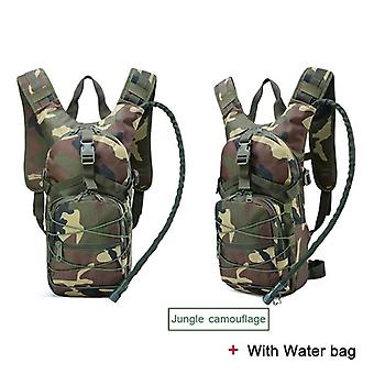 Lightweight Tactical Backpack, Water Bag, Camel Survival Hiking, Hydration