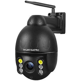 berwachungskamera Aussen WLAN, INQMEGAPRO 1080P HD WiFi Schwenkbare Kamera, Eingebautes Mikrofon und