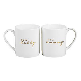 Bambino Gift Set Mugs - New Mummy Daddy