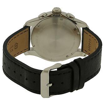 Swiss Army Victorinox Chronograph Leather Mens Watch 241616