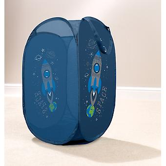 Country Club Kids Pop Up Laundry Basket, Space