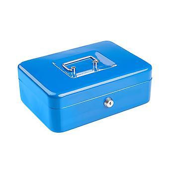 Compatto solido acciaio bloccabile Petty Cash Denaro / Valuables Safe Box - 10 pollici