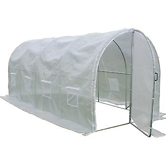 Invernadero con puerta batiente Mimosa - 180 g/m² - 9m² - 4.5 x 2 x 2 m
