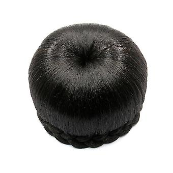 Braided Hair Bun Wig Small Hairpin Buckle Style