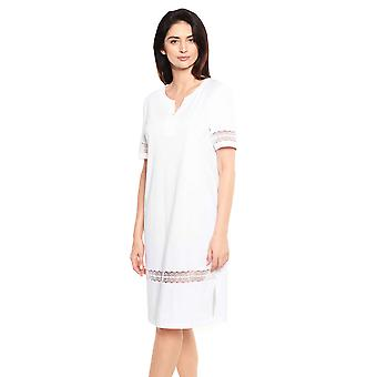 Féraud Couture 3211066-11710 Women's White Cotton Nightdress
