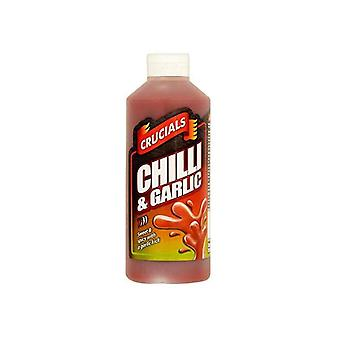 Crucials Chilli and Garlic Squeezy Sauce 500ml