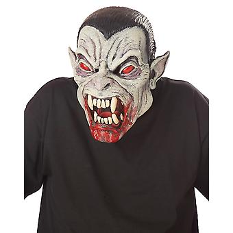 Blood Fiend Vampire Count Dracula Ani-Motion Overhead Mask
