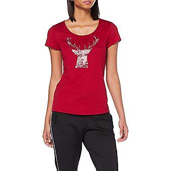 Trigema 5362531 T-Shirt, Röd (Rubin 436), Stor kvinna