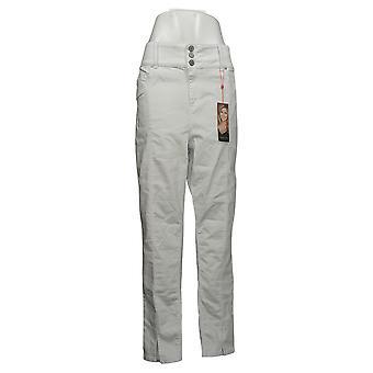 Laurie Felt Women's Jeans Curve Silky Denim Skinny White A378792
