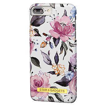 Iphone 7 Plus / 8 Plus - Shell / Schutz / Blumen