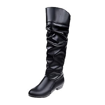 High Boots, Flat Heeled Boots, Winter Flat Shoes For Women