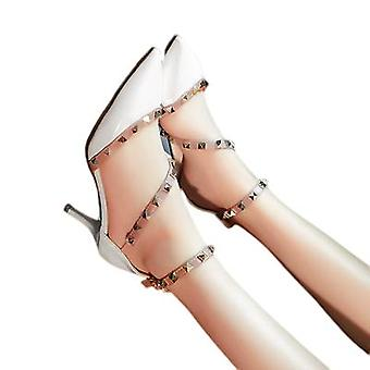 Rivets Pointed Heels, Stilettos, Straps And Sandals For Women