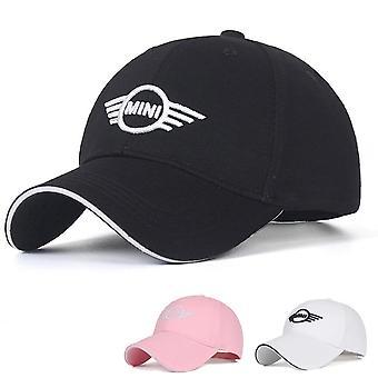 Säädettävä Mini Cooper -autosymboli kirjailtu hattu