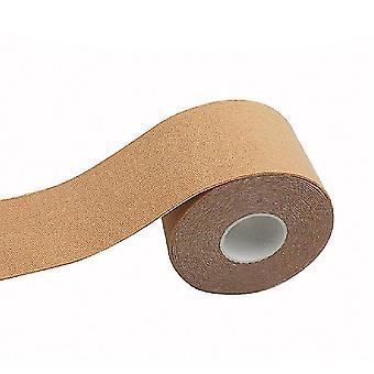 5Cm * 5m żółty rozciągliwy włókniny tkaniny podnoszenia naklejki klatki piersiowej waterproofinvisiblebreathable x1024