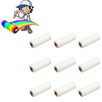 Mini Valkoinen Kestävä Vaahto maali rulla hihat