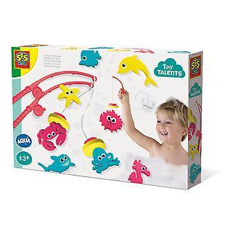 SES Creative - Barns små talanger som fiskar i vattenbadets lekset (flerfärg)