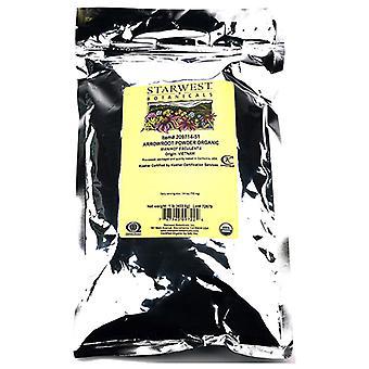 Starwest Botanicals Organic Arrowroot Powder, 1 lb