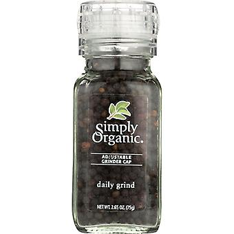 Simply Organic Spice Grndr Daily Org, Case of 6 X 2.65 Oz