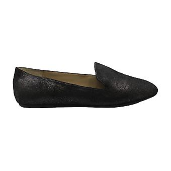 Enzo Angiolini Womens Lorell Leather Square Toe Loafers