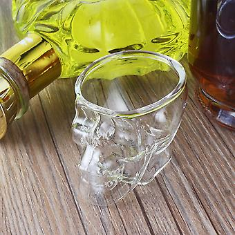 Mini Skull Head Shaped Shot Glass Cup Whisky Wine Bar & Party Cup