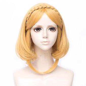 Lengend A Zelda Paróka Hercegnő Zelda rövid szintetikus haj parókák