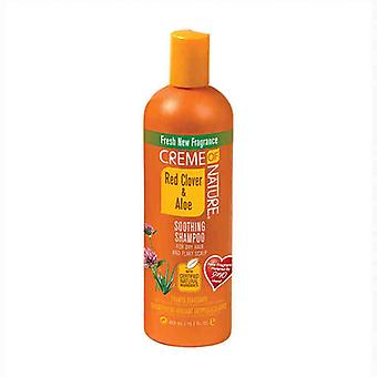 Moisturizing Shampoo Red Clover & Aloe Creme Of Nature (450 ml)