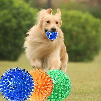 Pet Sounding Toy Hedgehog Ball Golden Retriever Molar Bite Resistant Tooth Toy for Large Pets,