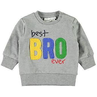 Nennen Sie es Pullover DADA - bester Bro aller Zeiten (Hellgrau)