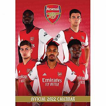 Arsenalin kalenteri 2022