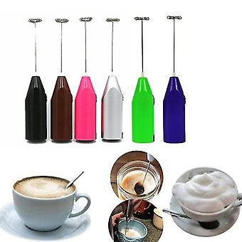 Whisks juice stirrer kitchen gadget electric handle egg beater -red