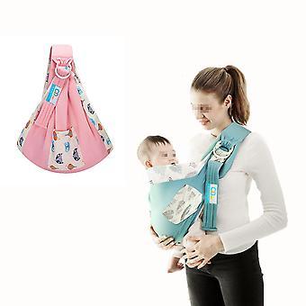 Homemiyn Sling Portabebés - Eslinga de algodón para bebés - Envoltura para bebés adecuada para niños de 0 a 36 meses