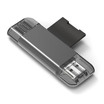 Geschikt voor Iphone Ipad Type-c multifunctionele kaartlezer