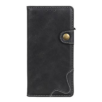 Case For Xiaomi Mi 11i Cover Kickstand Card Holder Magnetic Closure Leather Flip Foilo - Black