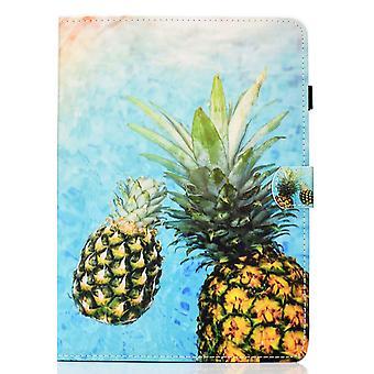 Puzdro na Samsung Galaxy Tab S6 Lite Cover s automatickým spánkom / prebudenie vzor magnetické - ananás