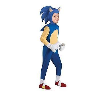 Halloween Cosplay Kostüm Sonic Igel Set