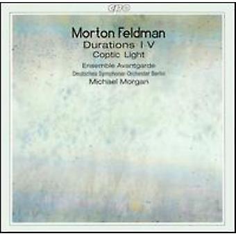 M. Feldman - Morton Feldman: Durations I-V; Coptic Light [CD] USA import