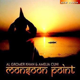 Khan/Cuni - Monsoon Point [CD] USA import