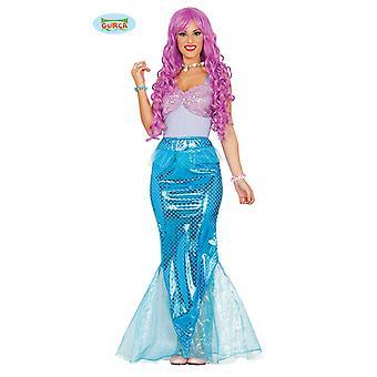 Meerjungfrau Kostüm Meerjungfraukostüm Damen