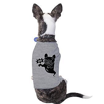 Catatau francês Bulldog Tshirt de Halloween para cachorros traje engraçado t-shirt