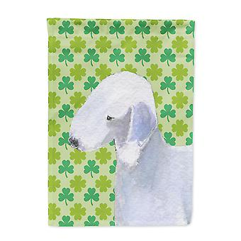 Carolines Schätze SS4414-FLAG-PARENT Bedlington Terrier St. Patricks Day Sha