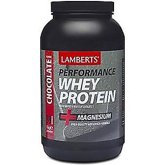 Lamberts Whey Protein Chocolate Flavour, 1000g Powder