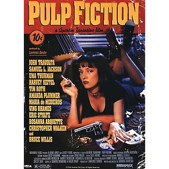 Pulp Fiction - Cover Poster Plakat-Druck