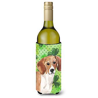 Garrafa de vinho de Beagle St. Patrick Beverge isolador Hugger